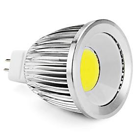 MR16 5W 400-450LM 5500-6500K Natural White Light COB LED Spot Bulb (12V)