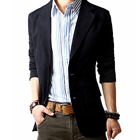 Men's Slim Cotton Suit