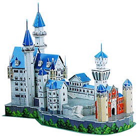 DIY Architecture 3D Puzzle Germany Neuschwanstein Castle (98pcs, difficulty 5 of 5)