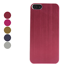 Protective Metal Back Case for iPhone 5 (Assorted Colors)