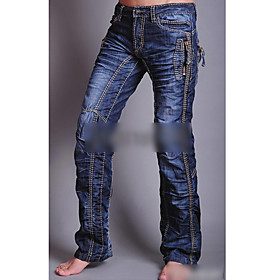 Men's Trendy Straight Jeans