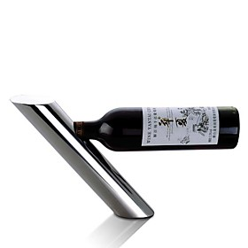Lean Pipe Shaped Wine Bottler Supporter Wine Bottle Shelf