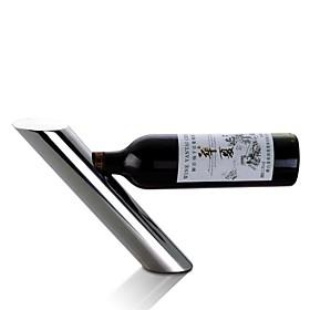 Lean Pipe Shaped Wine Bottler Supporter Wine Bottle Shelf