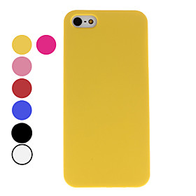Dull Polish Style Hard Case for iPhone 5 (Assorted Colors)