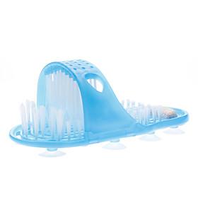 Bathroom Foot Scrubber Brush Massager Cleaner