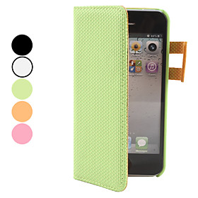 PU Leather Case with Card Slot for iPhone 5 (Assorted Colors)
