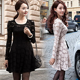 Women's Slim Lace Dress