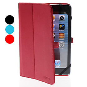 Simple Designs PU Leather Case with Stand for iPad Mini (Assorted Colors)