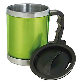 Stainless Steel Warm Keeping Vacuum Cup (Random Color)