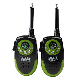 Walkie Talkie with Compass (Green  Black)