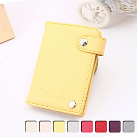 Women's Buckle Leather Wallet(11 7.5 2CM)