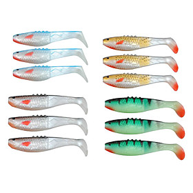 95MM 9G Soft Lure Pack (3 Pieces)