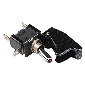 DIY Rocker Button Switch for Car, Vehicle, Motorcycle (DC 12V)