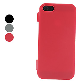 Solid Color PU Leather Case for iPhone 5 (Assorted Colors)