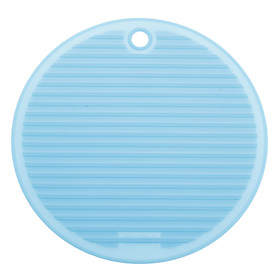 Round Shaped Anti-Slip and Heat-Insulated Mat (Random Color)
