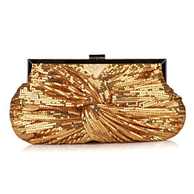 Shining Polyester with Sequins Evening Handbag/Clutches(More Colors)