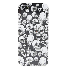 Skull Pattern Hard Case for iPhone 5