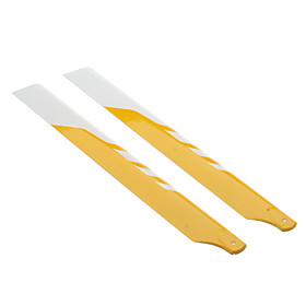 Mystery 325GF-11 Glass Fiber Main Blade for Electric 450 Helicopter (325mm)