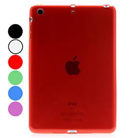 Transparent Dull Polish Designs TPU Soft Case for iPad Mini (Assorted Colors)