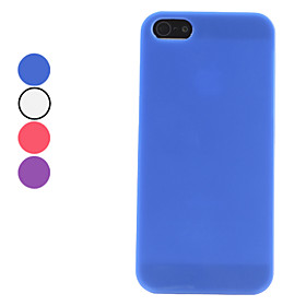Solid Color Hard Case for iPhone 5 (Assorted Colors)