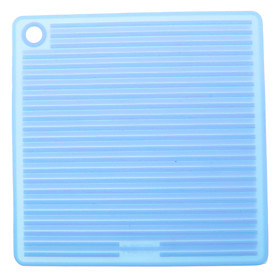 Square Shaped Anti-Slip and Heat-Insulated Mat (Random Color)