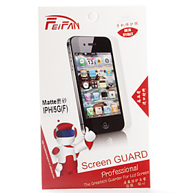 Matte Screen Protector Film for iPhone 5