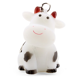 Milk Cow Keychain with Light Effect