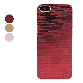 Flash Design Cross Stripe Pattern Hard Case for iPhone 5 (Assorted Colors)
