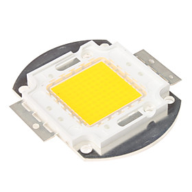 DIY 100W 8000-9000LM 2850-3050K Warm White Light Integrated LED Module (33-35V)