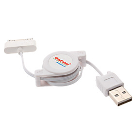 Retractable USB Charging Cable for iPhone 4, 4S and Others