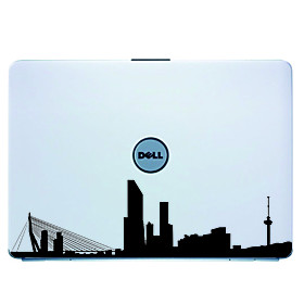 Rotterdam Laptop Skin Cover Art Decal Sticker for MacBook Air Pro/Dell/HP/Compaq/Acer/Lenovo/Sony (B