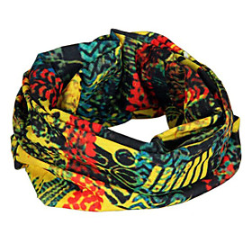 Abstract Pattern Cycling Scarf