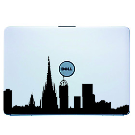 Basa Rona Laptop Skin Cover Art Decal Sticker for MacBook Air Pro/Dell/HP/Compaq/Acer/Lenovo/Sony (B