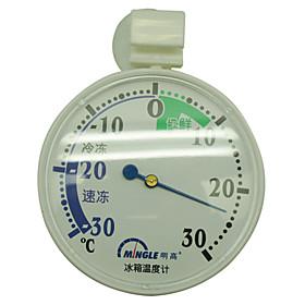Kitchen Fridge Freezer Round Thermometer with Sucker