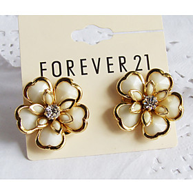 Women's Elegant Flower Earrings