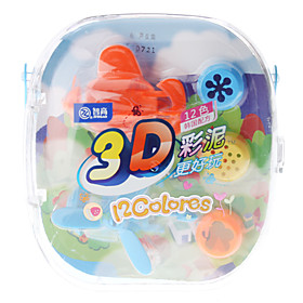 Plasticine 12-Color Helicopters Modeling Clay
