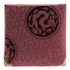 Purple Style Cuboids Shape Large Necklace Pendant Gift Box