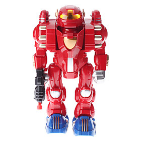 13 Large Robot with Light and Sound Effect (Random Color, 4xAA)