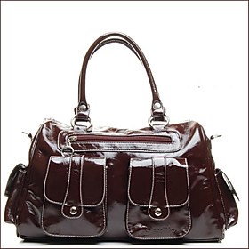 Women's Fashion Brown Tote(25 37 14CM)