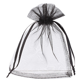 Clean Color Style Rectangle Shape Small Gift Bag (Contain 10 Bags)