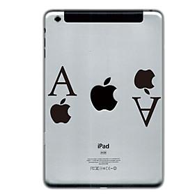A and Apple Design Protector Sticker for iPad Mini