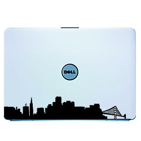 San Francisco Laptop Skin Cover Art Decal Sticker for MacBook Air Pro/Dell/HP/Compaq/Acer/Lenovo/Son
