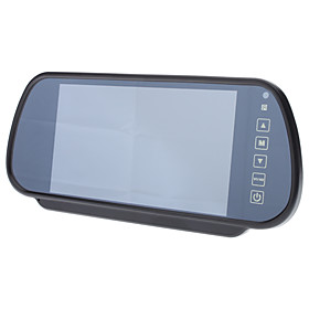 7 Inch Car Back-View TFT LCD Mirror Color Monitor