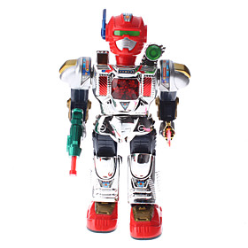 Walking and Talking Fighting Robot with Light Effect (3xAA)