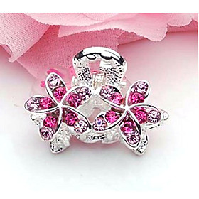 Women's Diamond Flower Hair Clip(3 2.5CM)