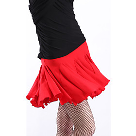 Polyester Women's Latin Dance Skirts