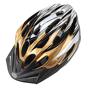 Outdoor MTB Cycling Helmet with Sunvisor (24 Vents)