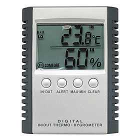 Digital Indoor and Outdoor Thermometer and Hygrometer