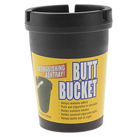 Butt Bucket Extinguishing Ashtray for Car