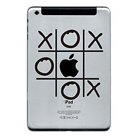 O and X Design Protector Sticker for iPad Mini